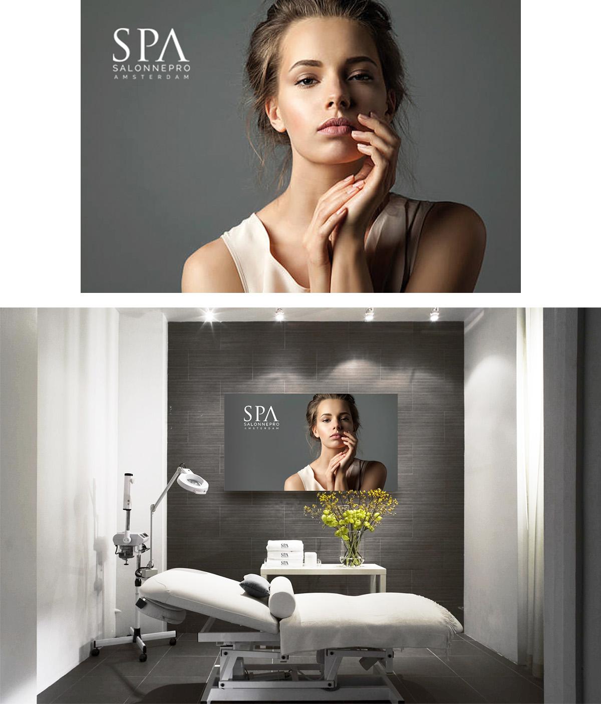 Poster design Salonnepro Algemeen